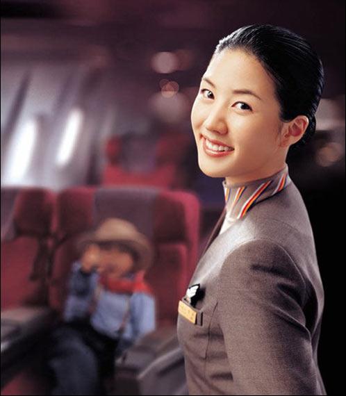 漂亮空姐图片