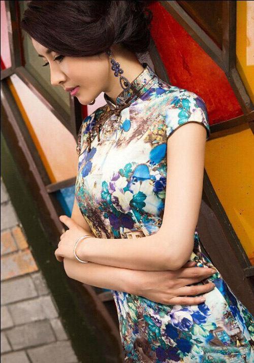 国色芳韵 旗袍最女人 精彩贴图