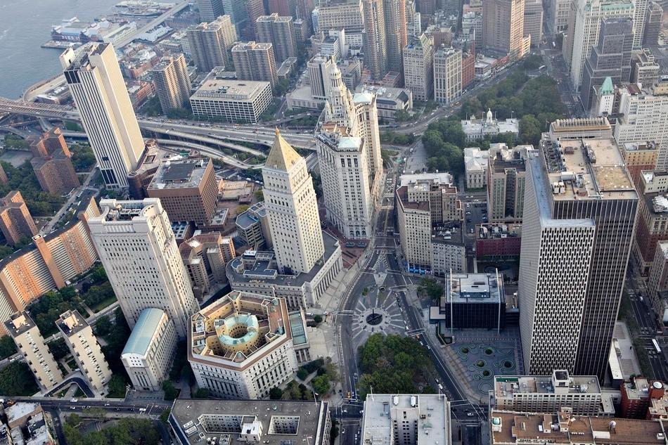 美国纽约自由女神像_美国最大的城市纽约市鸟瞰图_异域风情_嘻嘻网