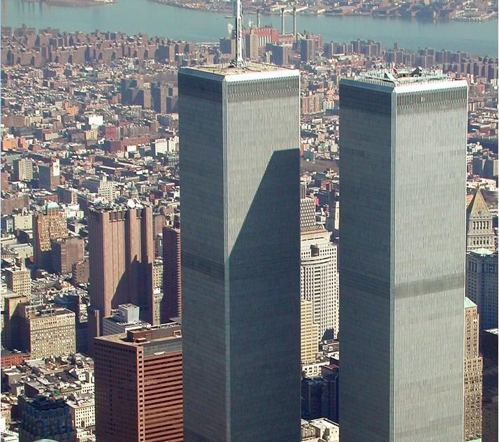 纽约新世贸中心大厦建成 成北美第一高楼 异域