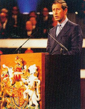 查尔斯香港讲话