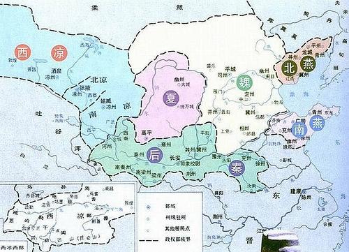 细数中国历史最乱的时代 莫过于五胡十六国图片