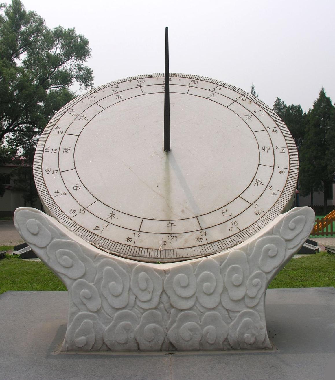 浮出水面的影子_中国古代的计时器:圭表、日晷、漏壶、浑天仪_奇闻趣事_嘻嘻网