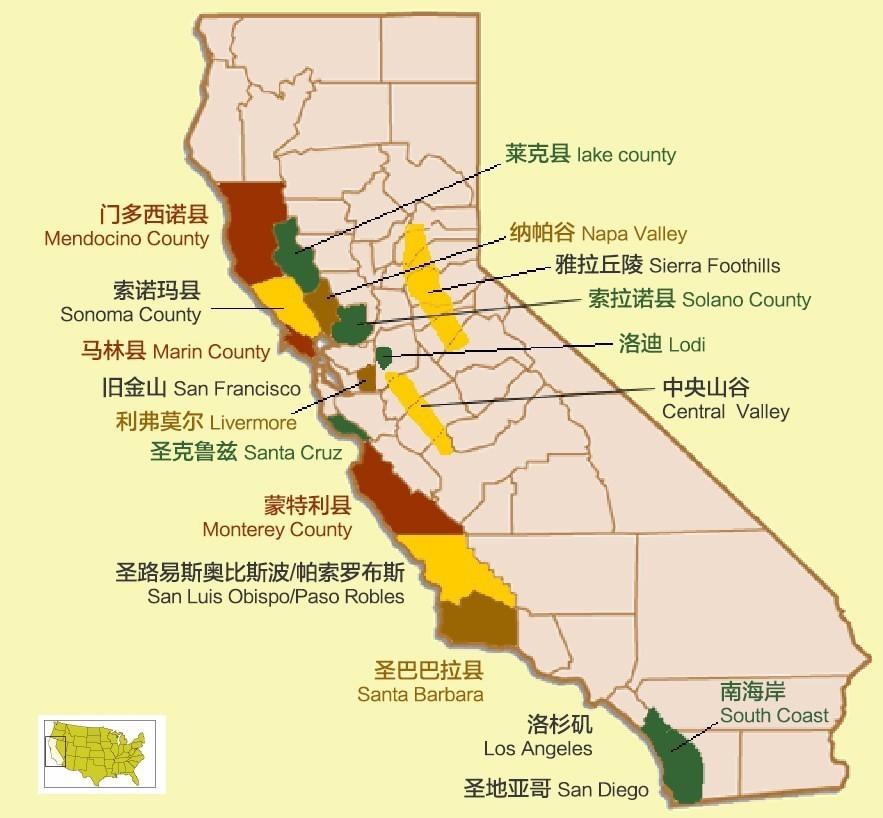 美国加州最美的31个地方 去过10个人生就完美了