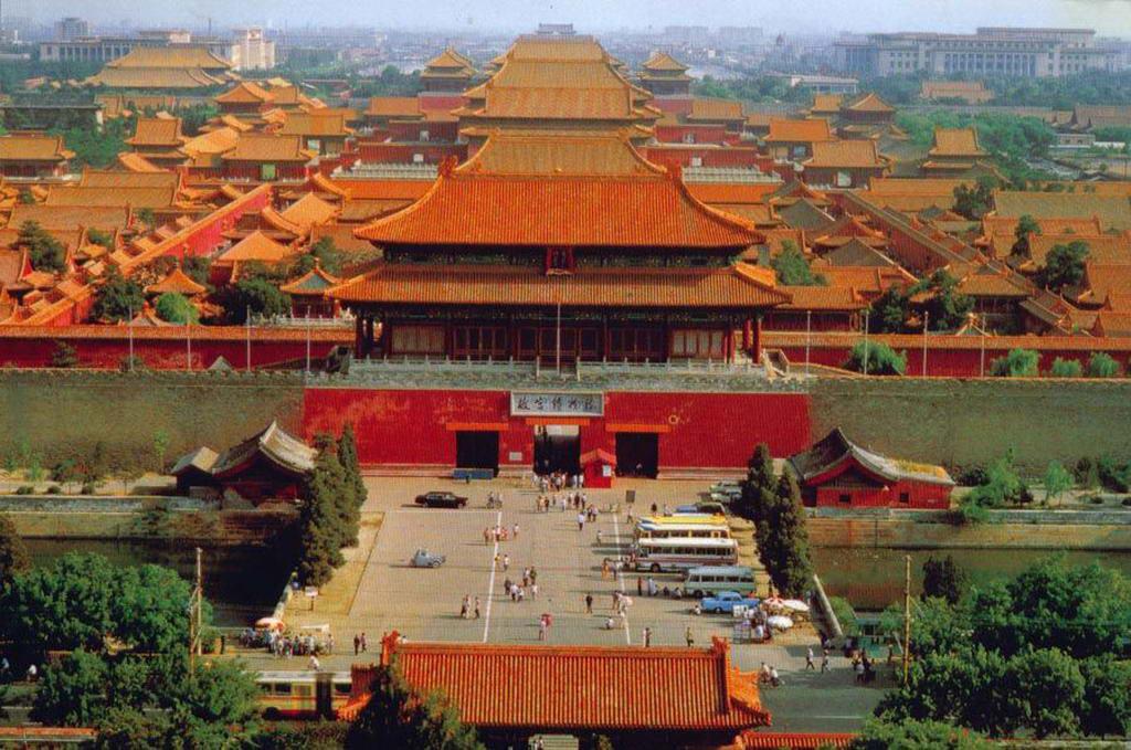 北京风景图片故宫