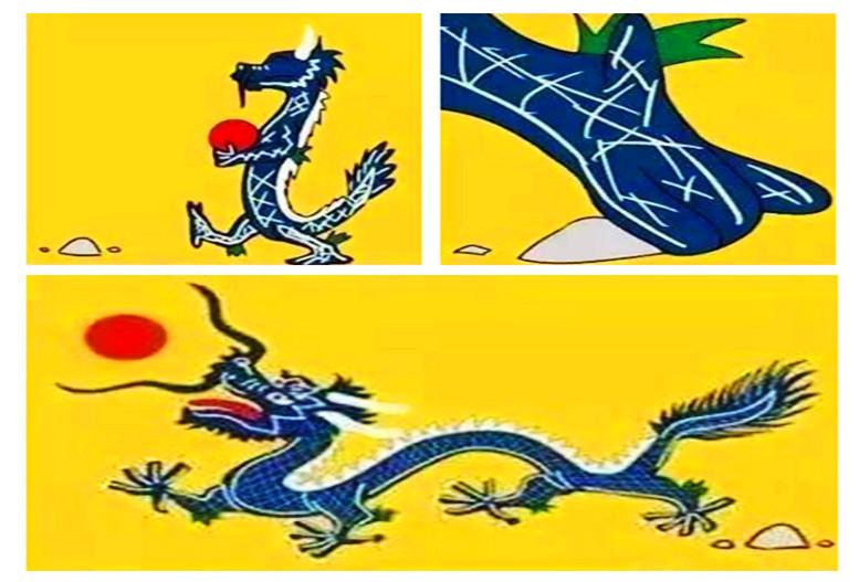 百年中国国旗史从黄龙旗到青天白日五星红旗3d漫画触手全彩图片