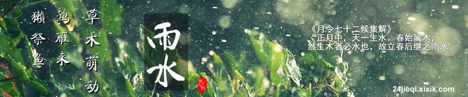 雨水 - 二十四节气之雨水,雨水节气,二十四节气.24节气