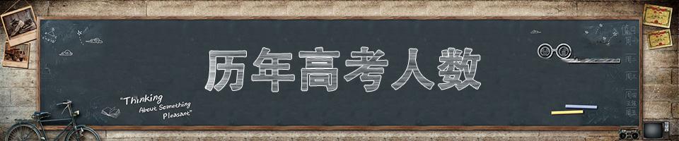 历年高考报名人数和录取人数_高考录取率_中国高考40年